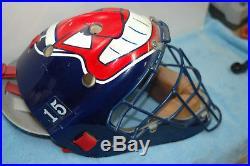 MLB Cleveland Indians Sandy Alomar Helmet