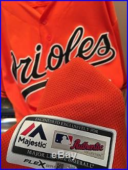 Manny Machado Game Used Jersey, Orioles, Worn Spring Training Game(s) 2016! COA