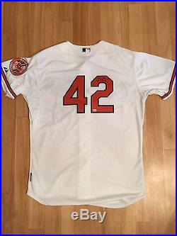 Manny Machado Game Used & Signed Home Run Jersey, Orioles, Worn 4/15/15 HR 1/35