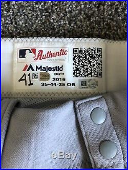 Marco Hernandez Rookie 1936 TBC Boston Red Sox Game Used Pants & Jersey