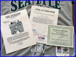 Mariners Alex Rodriguez 1996 Game Worn & Used Signed Grand Slam Baseball Jersey