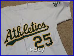 Mark McGwire Game Worn Jersey 1992 Oakland A's