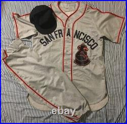 Matt Cain San Francisco Sea Lions Game Used 1946 Turn Back Clock Full Uniform