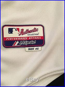 Matt Kemp #27 2014 Dodgers Game-Worn MLB Used Uniform / Jersey
