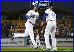 Matt Kemp Dodgers Game Used Worn Home Run Jersey MLB Authentic