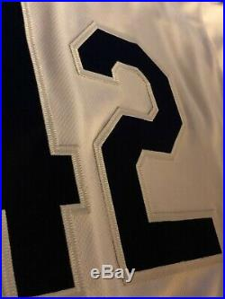 Matt Moore Game Worn Game Used 2018 Jackie Robinson Day #42 Jersey