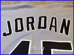Michael Jordan Game Worn/Used 1994 Chicago White Sox Baseball Jersey