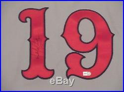 Michael Martinez 2011 TBTC 1938 Stars Game Used Phillies Jersey Road MLB holo