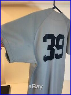 Mike Greenwell 1986 Rookie jersey Game-Used -Authentic Boston Red Sox