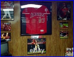 Mike Trout Angels Game Used/Worn Jersey-2 HR's-2B-3Runs-4RBI's