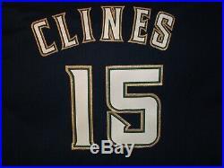 Milwaukee Brewers 1994 Game Used Worn Gene Clines Jersey Sz XL Sz 46 MLB 125th