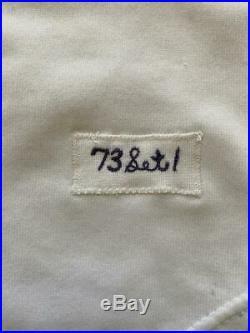 Minnesota Twins 1973 Rod Carew Game Used Baseball Jersey