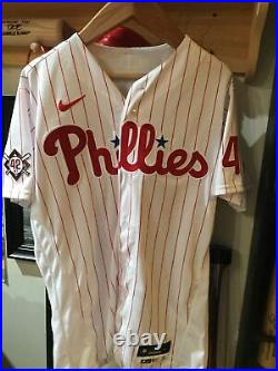 Neil Walker Game Used Jersey (Jackie Robinson Day) MLB COA