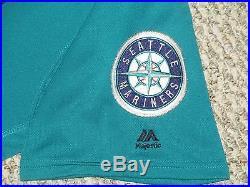 Nelson Cruz SZ 52 #23 2016 Seattle Mariners Spring Training game used jersey