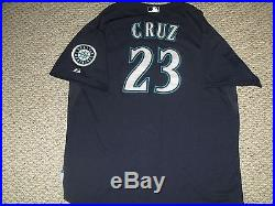 promo code 36f0a f805b Nelson Cruz Size 54 #23 2015 Seattle Mariners game used ...