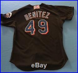 New York Mets Armando Benitez 2001 Game Used Worn Post 9/11 Jersey (orioles)