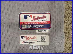 New York Mets Game Used Jersey 2015 Postseason World Series Tim Teufel 1986 Mets