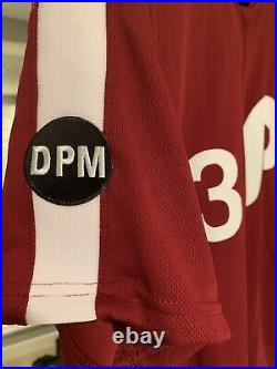 Nick Pivetta Game Used Maroon Phillies Jersey