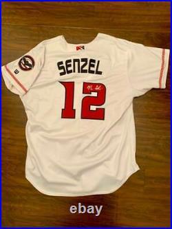 Nick Senzel Game Used Cincinnati Reds AAA Jersey Louisville Bats 1/1 Auto & COA
