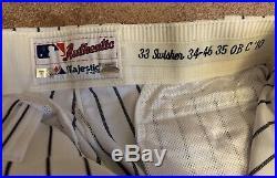 Nick Swisher Game Used Worn Pants New York Yankees Steiner 2010 MLB