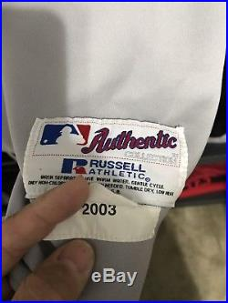 Nomar Garciaparra 2003 Game Used Boston Red Sox Jersey