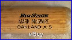 Oakland Athletics Game Used Worn Bat Mark McGwire