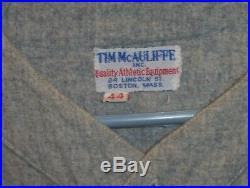 Original 1940s-50s Brown University Baseball Wool Jersey