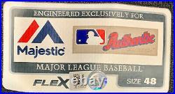 Orioles Manny Machado Signed Game Used Black Jersey MLB Holo JB878002 Beckett