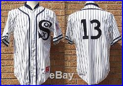 Ozzie Guillen 1917 Tbtc Chicago White Sox Game Used/worn/issued Jersey/uniform