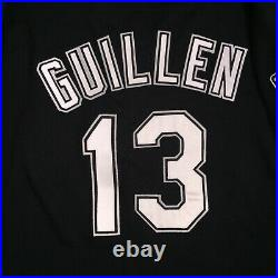 Ozzie Guillen Chicago White Sox Game Used Worn Jersey 1997 LOA