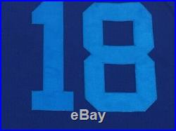 PLAYERS WEEKEND GRANDERSON size 46 #18 2018 TORONTO BLUE JAYS Game Jersey ISSUED