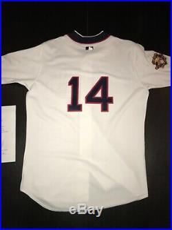 Paul Konerko Signed Game Used 1917 Jersey Chicago White Sox Authenticated 2001
