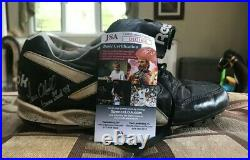 Paul O'Neil Game Used Cleat 1998 COA from JSA