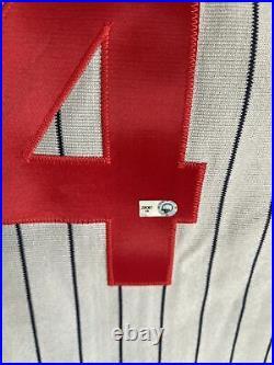 Pedro Alverez game used 2012 Crawfords Negro League Tribute Jersey COA MLB