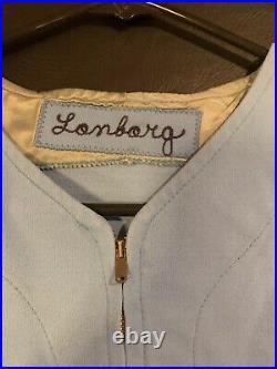 Phillies Game Used/ Worn 1979 Jim Longberg Jersey