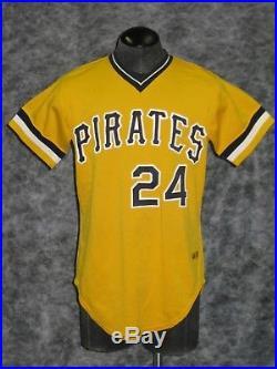 Pittsburgh Pirates 1981 Game Used / Worn, Mike Easler Jersey & Pants