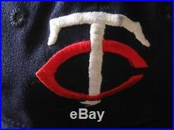 Rare 1964-66 Zoilo Versalles Minnesota Twins Game Worn Cap Hat Mvp World Series
