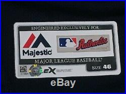 RARE 2019 JAPAN BB ALT NAVY SIZE 46 2019 Seattle Mariners game jersey MLB HOLO