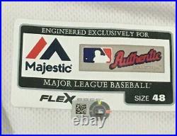 ROARK size 48 #57 2017 WASHINGTON NATIONALS GAME USED JERSEY HOME JULY 4 MLB