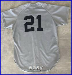 ROGER CLEMENS GAME USED WORN 1984 Rookie Year BOSTON RED SOX Road Jersey