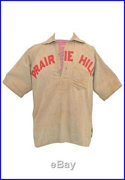-Rare- 1900 -Prairie Hill- Vintage Industrial League Game Used Baseball Uniform