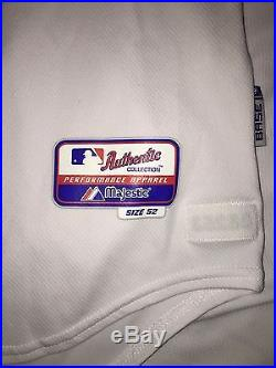 Rare 2008 Josh Hamilton Game Used Worn Texas Rangers Home Jersey