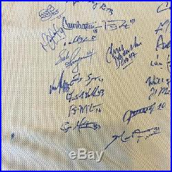 Rare 2017 Houston Astros Team Signed Jackie Robinson Day Jersey MLB Authentic