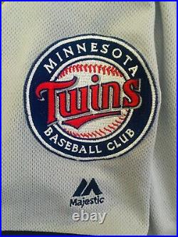 Rare 2019 Game Used Worn Byron Buxton Minnesota Twins Jersey MVP MLB Proof