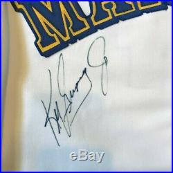 Rare Ken Griffey Jr. Signed Game Used 1992 Seattle Mariners Jersey JSA COA