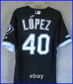 Reynaldo Lopez 2019 Chicago White Sox Game Worn VS KC (4 HR's) Jersey MLB 150