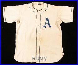 Rookie 1949 Nelson Nellie Fox Philadelphia Athletics Game Used Worn Jersey HOF