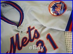 Roy Lee Jackson 1980 Mets #31 Game Used Road Jersey