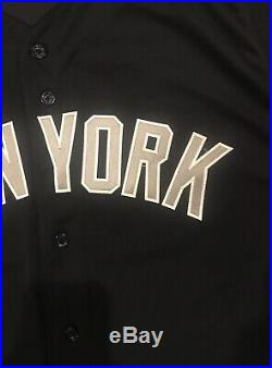 Russell Wilson New York Yankees Game Used Worn Jersey Seattle Seahawks MLB Auth