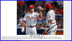 Ryan Howard 2015 Road Game Used Autographed Jersey with SLB Patch PHOTO MATCH